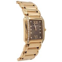 Patek Philippe Twenty-4 Rose Gold Diamond Dial Ladies Watch