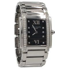 Patek Philippe Twenty-4 Stainless Steel Diamond Dial Ladies Watch