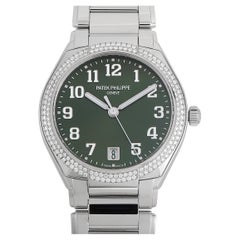 Patek Philippe Twenty~4 Automatic Olive Green Dial Watch 7300/1200A-011