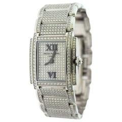 Patek Philippe Twenty~4 Ref. 4910/52G-001 Diamond Pave 18 Karat Gold Watch