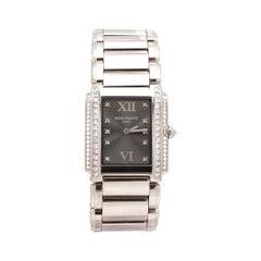 Patek Philippe 'Twenty~4' White Gold Diamond Watch
