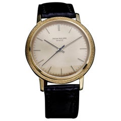 Patek Philippe Vintage 18 Karat Gold Manual Winding Watch, 1970s