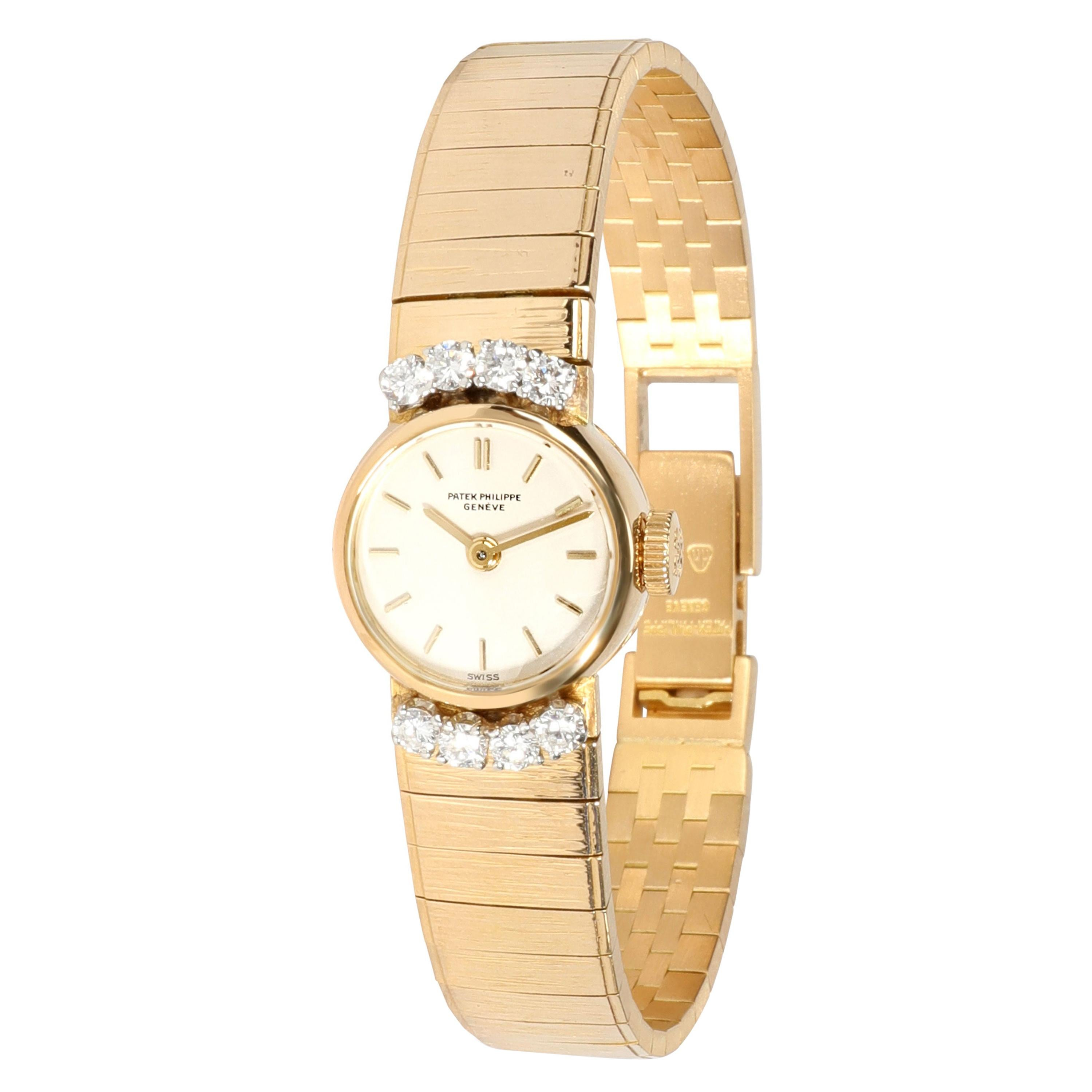 Patek Philippe Vintage Cocktail 3266/68 Women's Watch in 18kt Yellow Gold