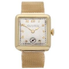 Patek Philippe Vintage Ladies Yellow Gold Watch