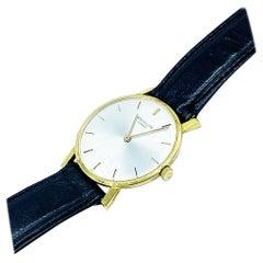 Patek Philippe Watch Manual Wind 18 Karat Yellow Gold Model No, 3470
