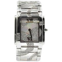 Patek Philippe White Gold Diamond Twenty-4 quartz Wristwatch Ref 4910-49G