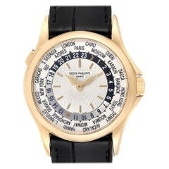 Patek Philippe World Time Complications Yellow Gold Men's Watch 5110