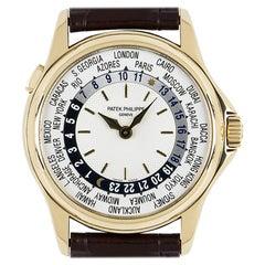 Patek Philippe World Time Yellow Gold 5110J-001