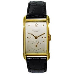 Patek Philippe Yellow Gold Art Deco Manual Watch, circa 1948