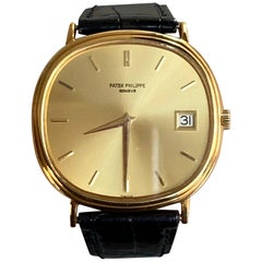 Patek Philippe Yellow Gold Automatic Ellipse 3839