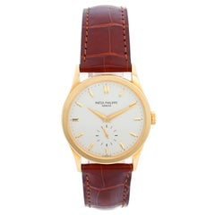 Patek Philippe Yellow Gold Calatrava Men's Watch Ref. 5096