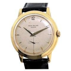 Patek Philippe Yellow Gold Disco Volante Original Dial Automatic Watch