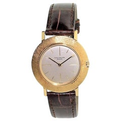 Patek Philippe Yellow Gold Original Florentine Bezel Manual Watch