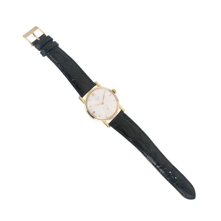 Patek Philippe Yellow Gold Wristwatch Ref 1578, circa 1955 In Good Condition In Stamford, CT