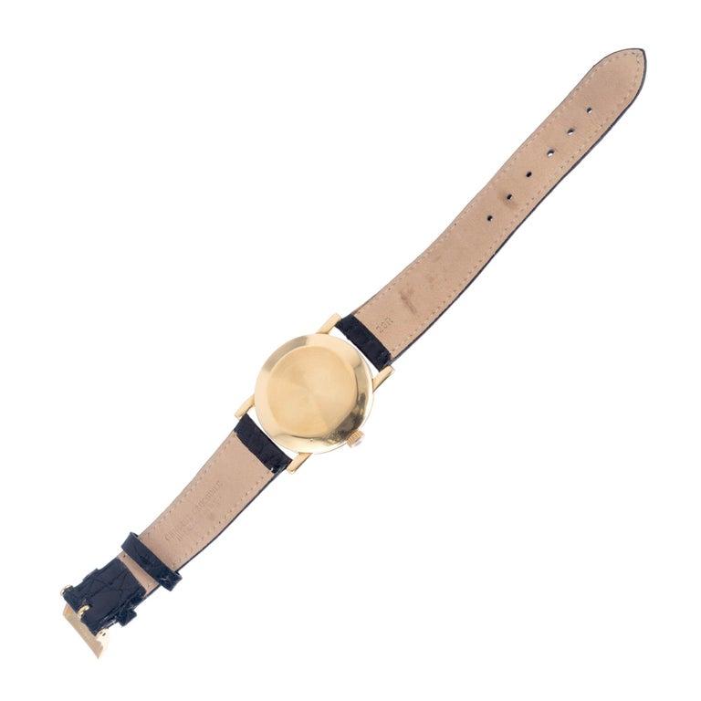 Men's Patek Philippe Yellow Gold Wristwatch Ref 1578, circa 1955
