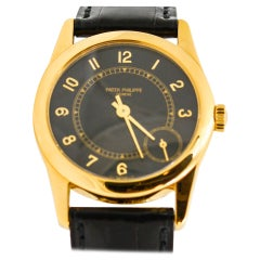 Patek Phillipe Calatrava 18 Karat Yellow Gold Pre-Owned Watch