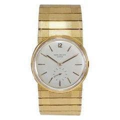 Patek Rose Gold Automatic Watch Ref 2584, circa 1956