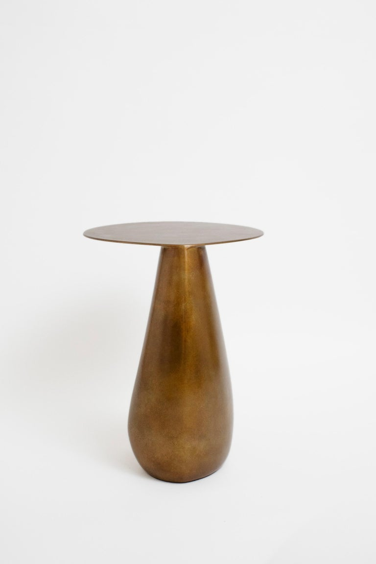 Patinated Bronze Dionis Side Table by Konekt Furniture In New Condition In Geneve, CH