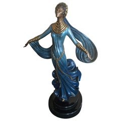 "Patinated Bronze ""Ecstasy"" by Erte"