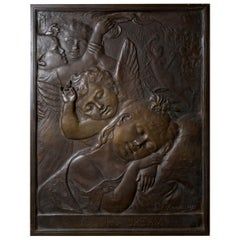 Patinated Bronze Plaque