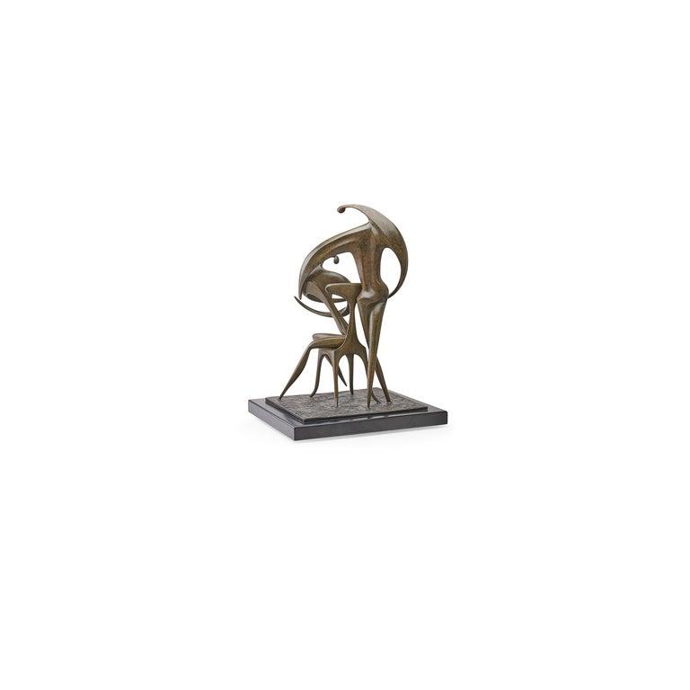 Israeli Patinated Bronze
