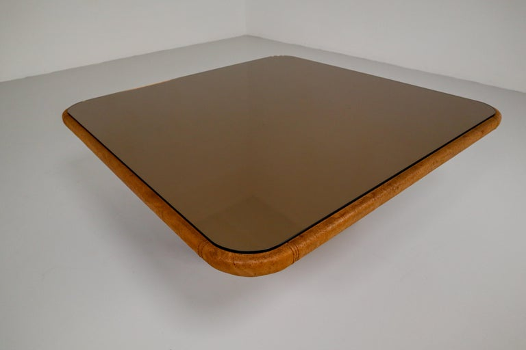 Patinated Cognac Leather