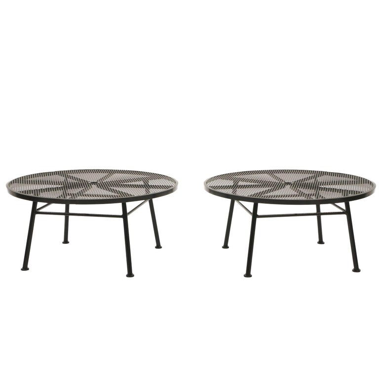 Patio Coffee Tables by Russell Woodard Excellent Condition