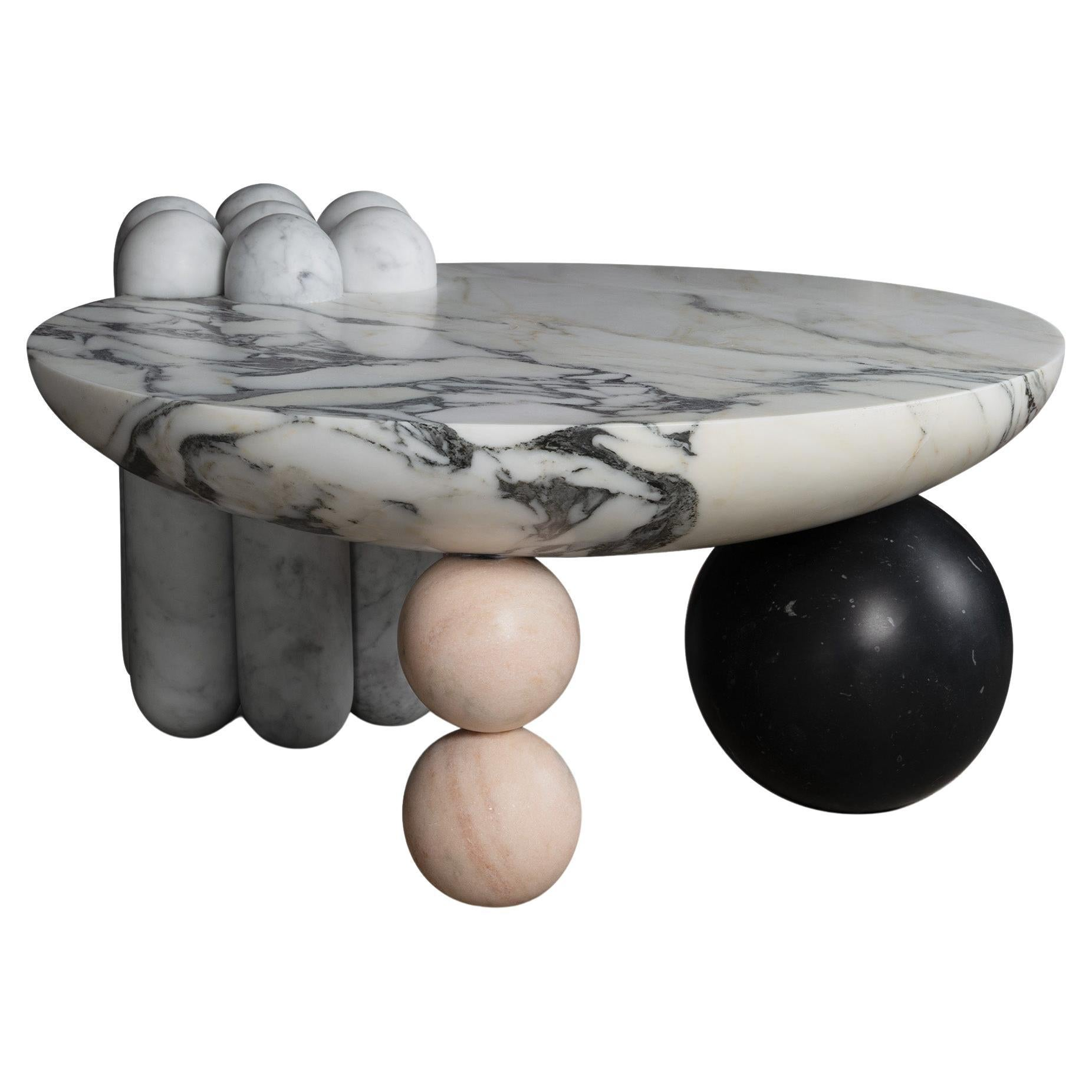 Patisserie Coffee Table by Lara Bohinc in Marble, in Stock