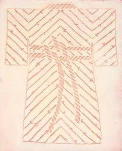Kimono Collagraph Plate 12