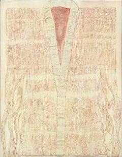 Kimono Collagraph Plate #2
