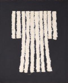 Kimono of Handmade Paper and Gold Thread