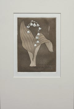 """Lily of the Valley"" - Lithograph"