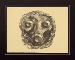"""Mask 1"" Collotype"