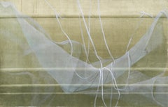 White Lace and Ribbons - Hand Augmented Collotype