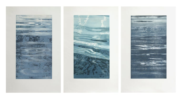 Path of Water II   #7 of 12 - Print by Patricia Claro