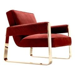Patricia Luxury Armchair by Castello Lagravinese Studio