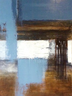"""""""Einaudi 1"""" Contemporary Abstract Expressionist Mixed Media Painting"""