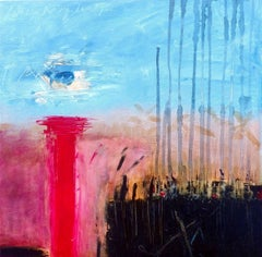This is a Moment I Can't Say  Contemporary Abstract Oil Painting