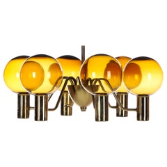 Patricia T372/6 Chandelier by Hans-Agne Jakobsson