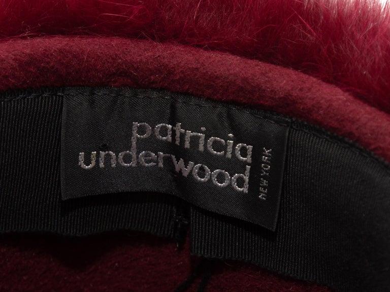 Women's Patricia Underwood Black Patterned Bucket Hat For Sale