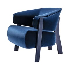 Patricia Urquiola ''Back-Wing Armchair', Wood, Foam and Fabric by Cassina