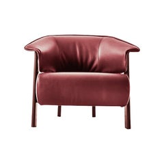 Patricia Urquiola ''Back-Wing Armchair', Wood, Foam and Leather by Cassina