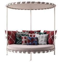 Patricia Urquiola ''Trampoline' Outdoor Sofa, Steel, Rope and Fabric