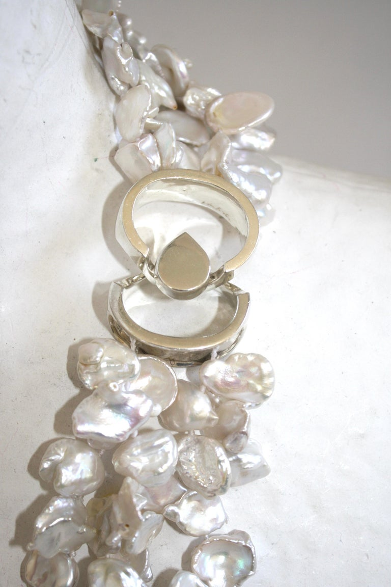 Patricia von Musulin Baroque Pearl and Rock Crystal Necklace For Sale 2