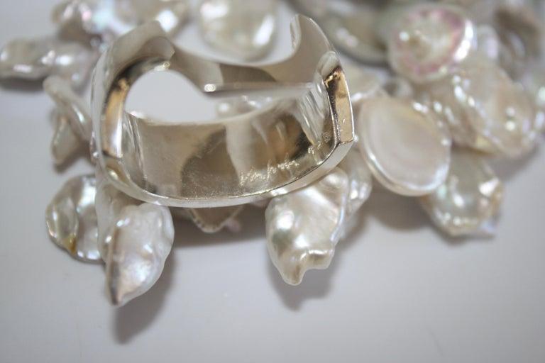 Patricia von Musulin Baroque Pearl and Rock Crystal Necklace For Sale 3