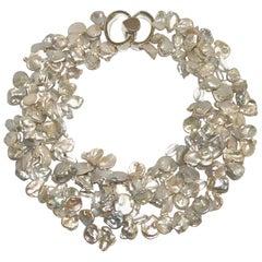 Patricia von Musulin Baroque Pearl and Rock Crystal Necklace