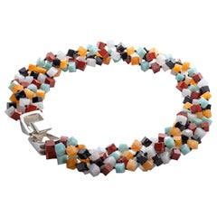 Patricia von Musulin Multi Color Jade Necklace