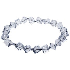 Patricia von Musulin Rock Crystal Cubes Necklace