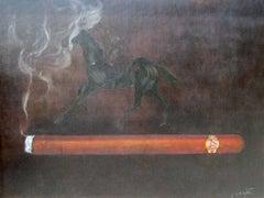 "A Winning Combination: ""Ramon Allones"" Corona Cigar and 1995 Race Horse- ""Cigar"""