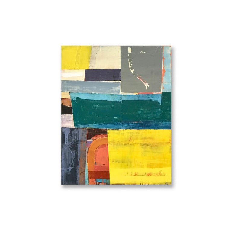 Patrick Adams Abstract Painting - WONDERING AND WANDERING
